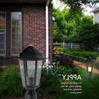Outdoor Post Lamp Pole Driveway Lighting Garden Porch Yard F