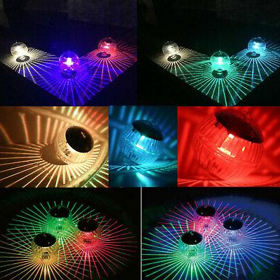 Outdoor Lights Pond Lamp Rotating Color Change