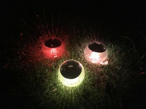 Outdoor Solar Floating Lights Garden Pond Pool Lamp