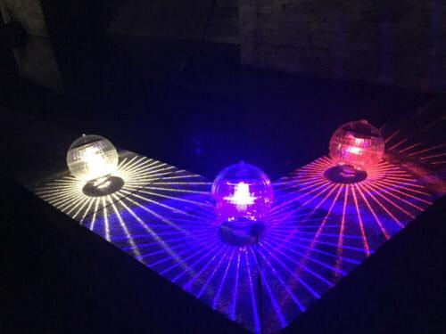 Outdoor Solar LED Floating Lights Pond Lamp