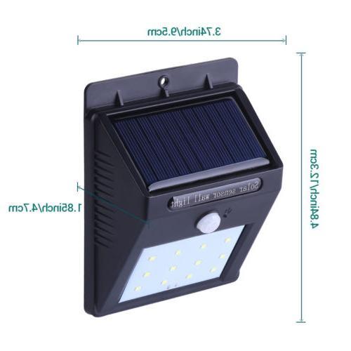 Outdoor Sensor Wall Garden Lamp LED