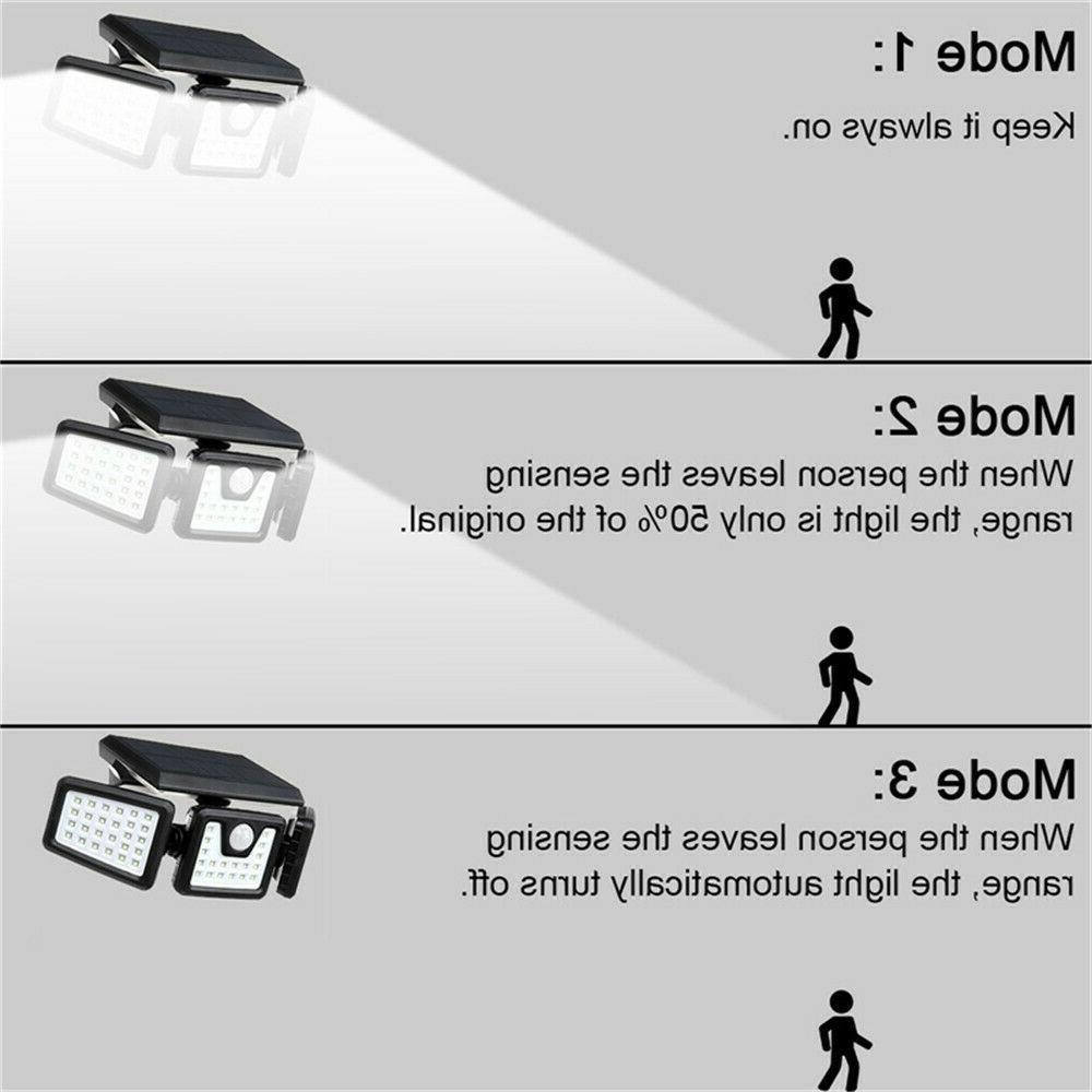 Solar Lights Outdoor Bright LED Solar Motion Sensor