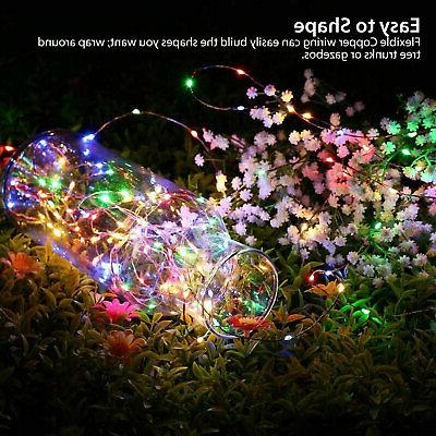 33Ft 100 LED Copper Wire String Xmas