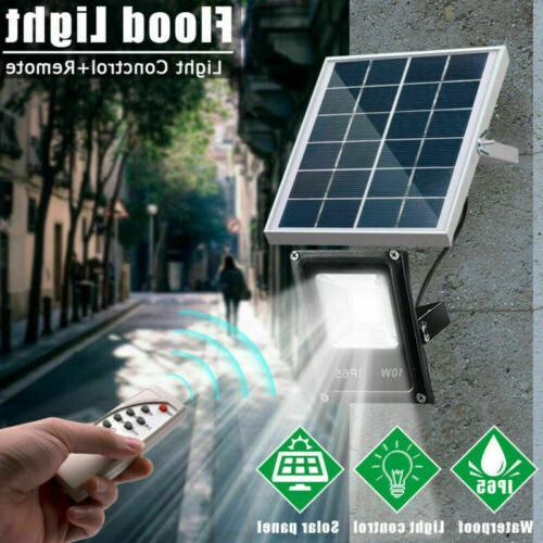 Outdoor Solar LED Lights Sensor Flood Garden Lawn Waterproof