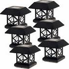 outdoor summit solar post cap light