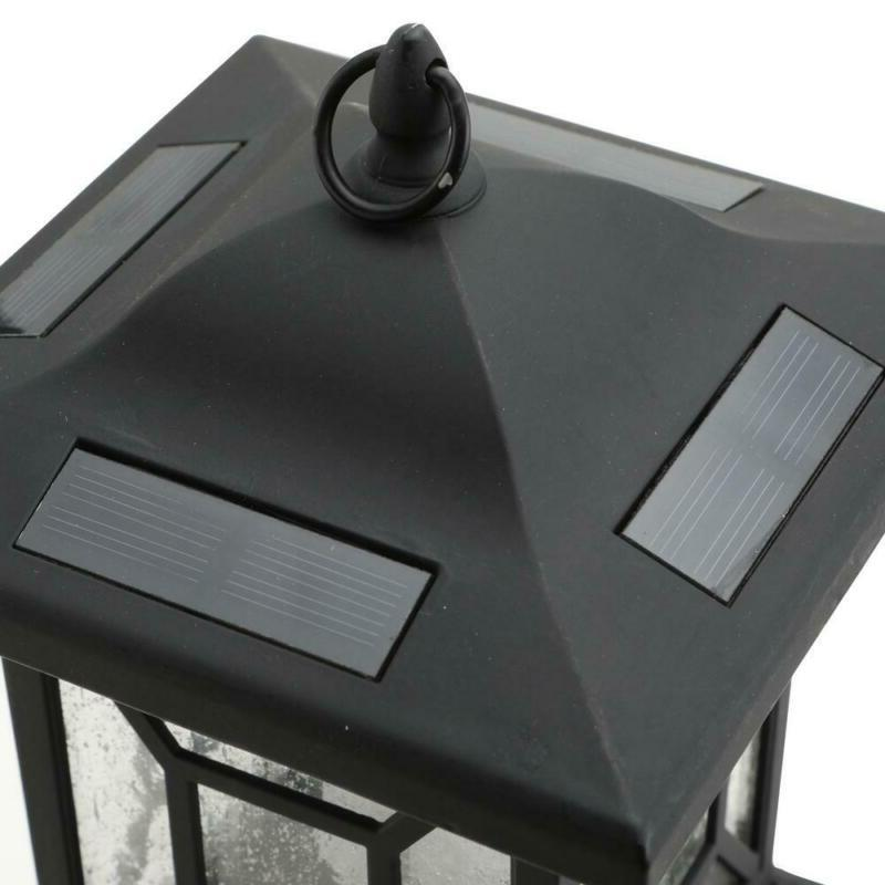 Path Integrated LED Outdoor Lantern Shepard Hook