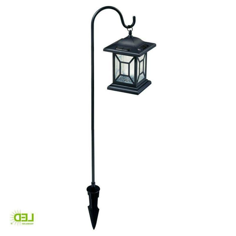 Path Lights Solar Integrated LED Outdoor Shepard
