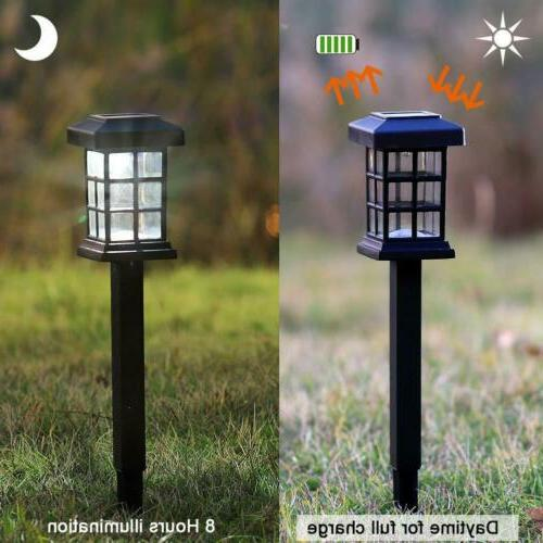MAGGIFT Pathway Lights LED Solar Lights for Lawn,