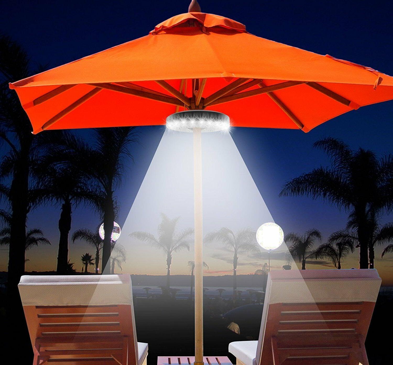 Patio Umbrella Lighting LED Light Battery