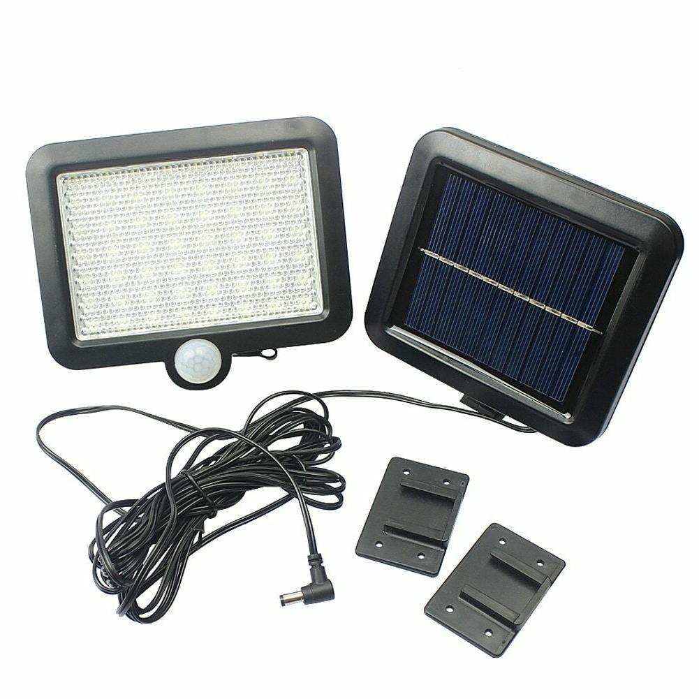 PIR Motion Sensor Outdoor 56 LED Solar Lights For Garden Par