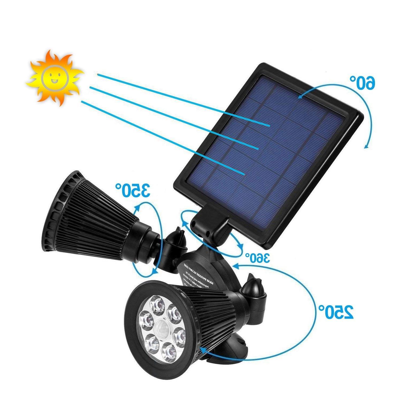 PIR Motion Lights Spotlights Waterproof