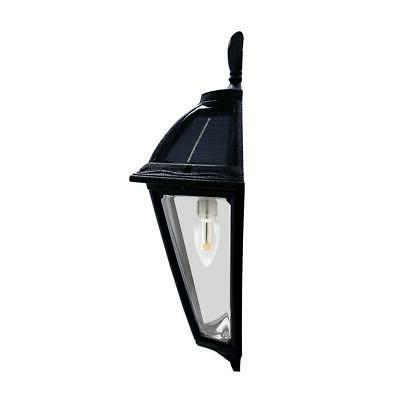GAMA SONIC 1-Light Black LED Solar