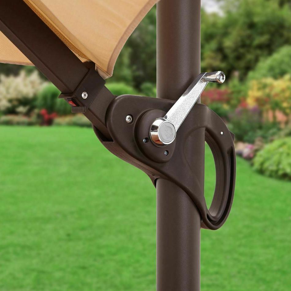 Pool Umbrella Lights Offset Adjustable Large
