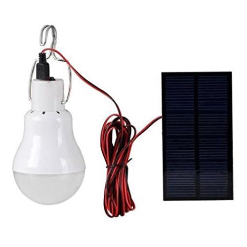 portable bulb indoor solar powered