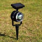 Portable Garden Lawn Decor Colorful Lamp Rotating Solar LED