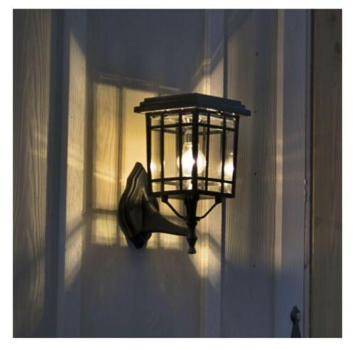 Gama Sonic Black LED Outdoor Post Light