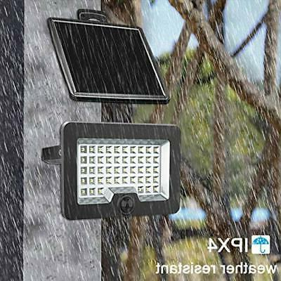 Security Light Solar Outdoor Sensor Flood