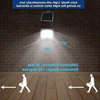 Security Solar Lights Outdoor Sensor IPX4