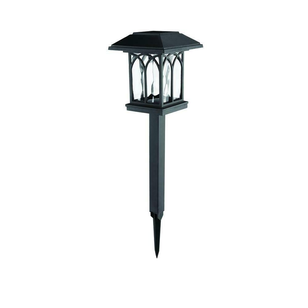 Solar Black LED 10 Lumens Path Light-Lights  for Garden-Outd