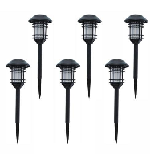 SOLAR LED PATHWAY LIGHTS Set Outdoor Path Light Yard Garden