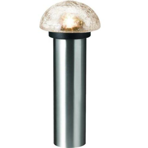 solar bollard stainless outdoor led landscape path