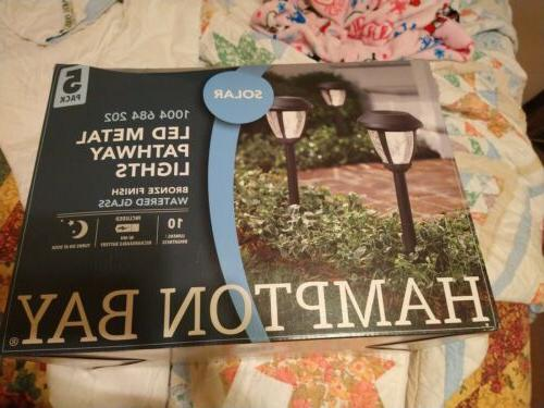 solar bronze outdoor integrated led 3000k 10