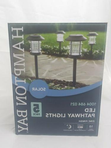 solar bronze outdoor integrated led landscape pathway