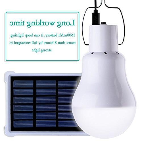 Solar Bulb PRODELI LED Lantern Bulb Camping Emergency S-1500 1600mA