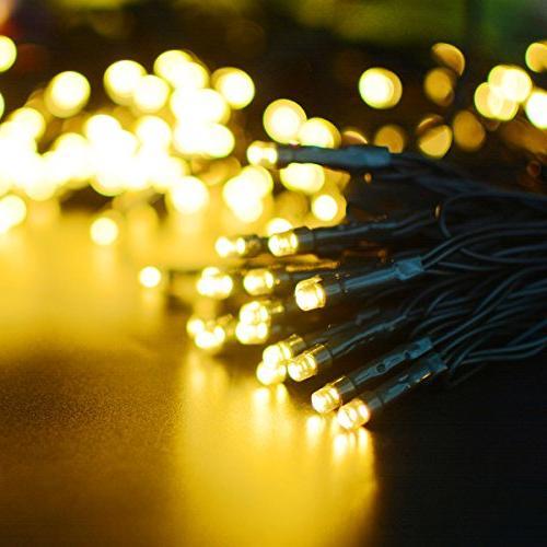 Vmanoo Solar Christmas 72 22 Meter 200 String Lights, Waterproof Fairy Xmas Lights Outdoor Indoor Thanksgiving Day Decorations, Pack