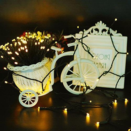 Vmanoo Solar 72 Feet String Lights, Xmas Lights Indoor Thanksgiving Day Pack