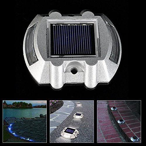 Solar Deck Dock Light Solar Step Path Lights Ground