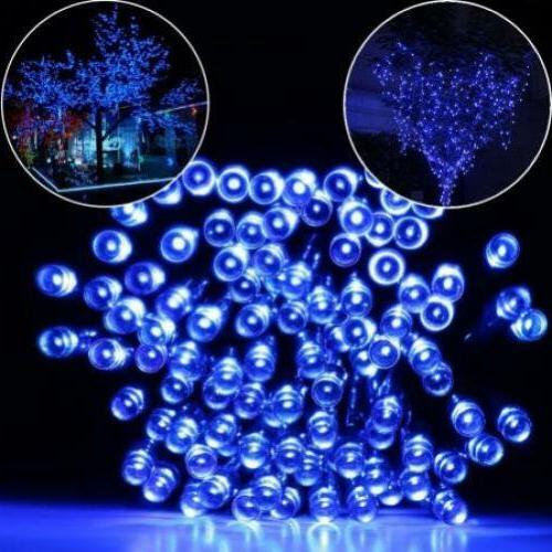 Qedertek Solar Fairy String Lights 100 LED Christmas Decorat