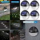 solar fence lights outdoor 4 pack 22lm