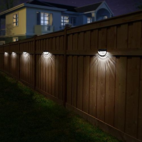 OTHWAY Fence Lights Wall Deck 4 Packs