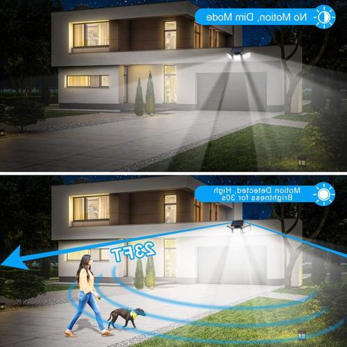 URPOWER Solar Outdoor LED Heads Motion Se...