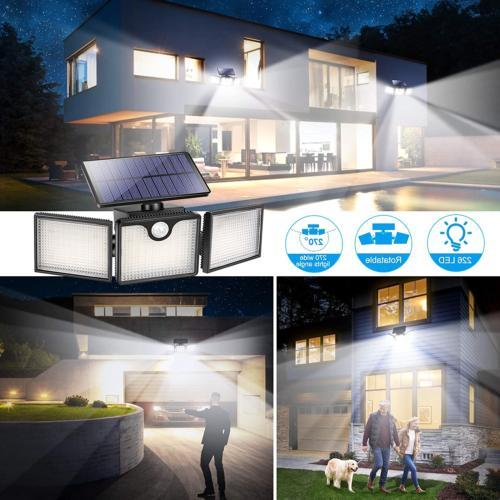 URPOWER Outdoor 226 Heads Adjustable Solar