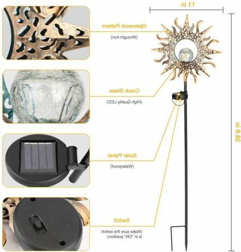 Solar Outdoor Light Crackle
