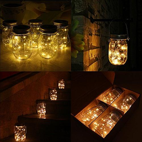 Lights 20 LEDs White Glass Fairy for Regular for Decor