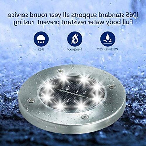 Solar LED Disk Solar in-Ground Lights Sensor