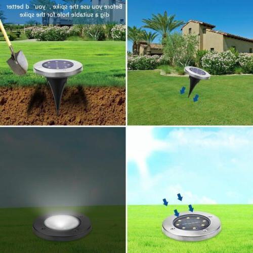 Solar Lights,Garden LED Disk