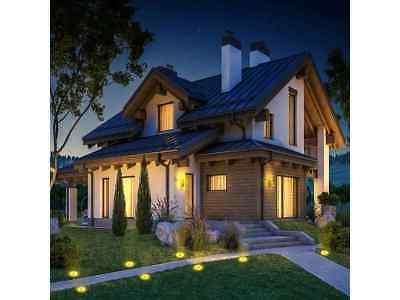 Solar Ground Warm Lights,