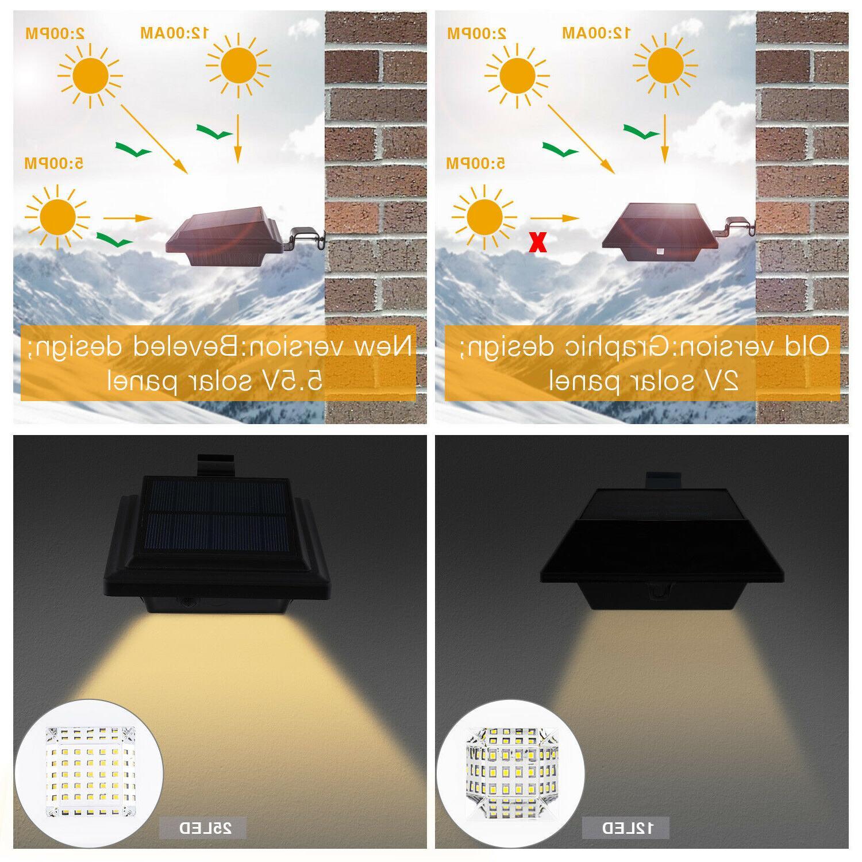 Solar Gutter Lights 25 Waterproof