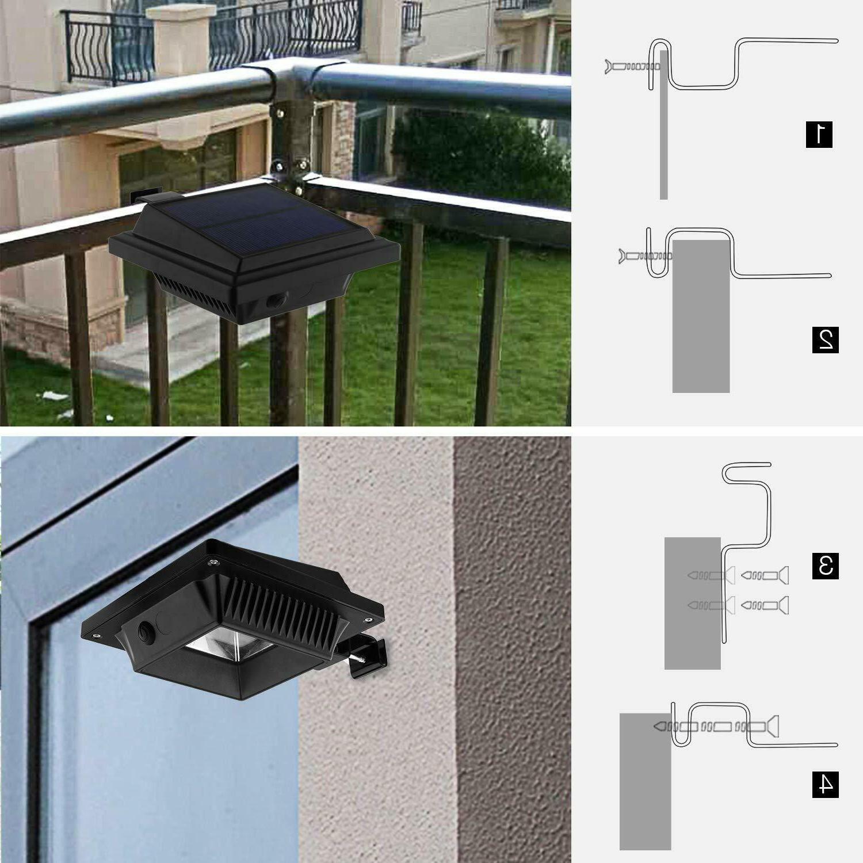 Solar Warm White Light Security