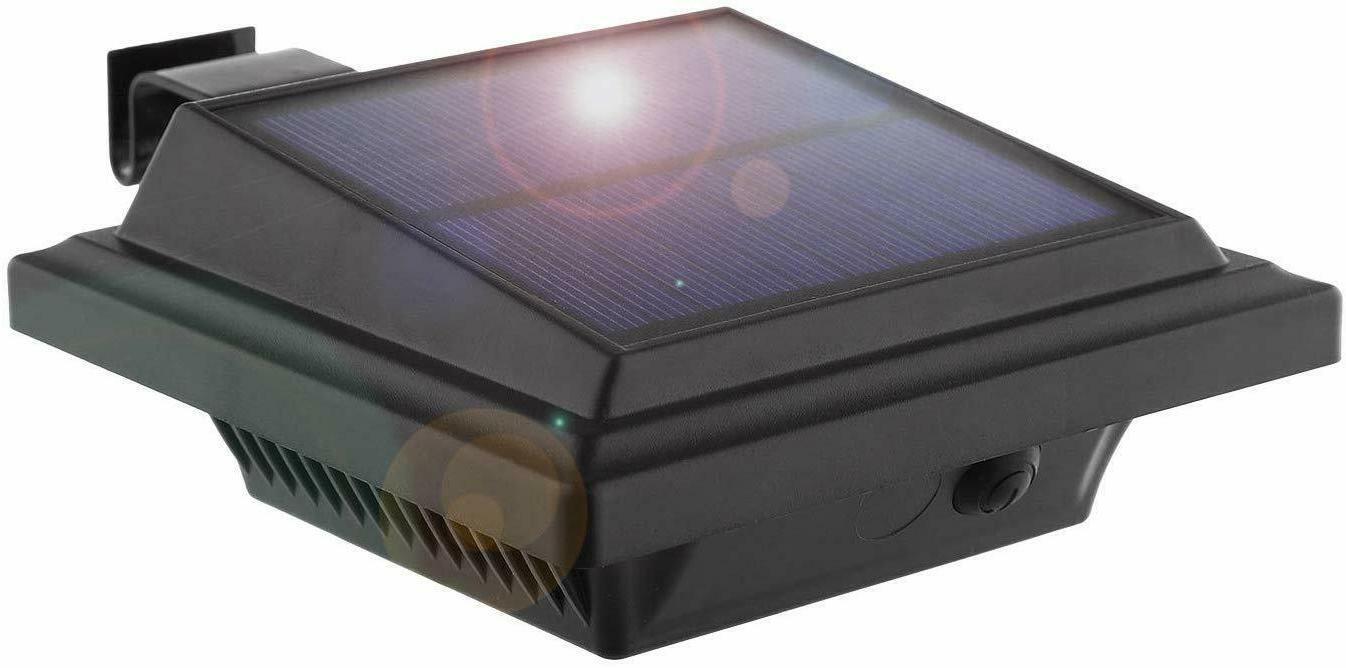 solar gutter lights outdoor 25 leds garden