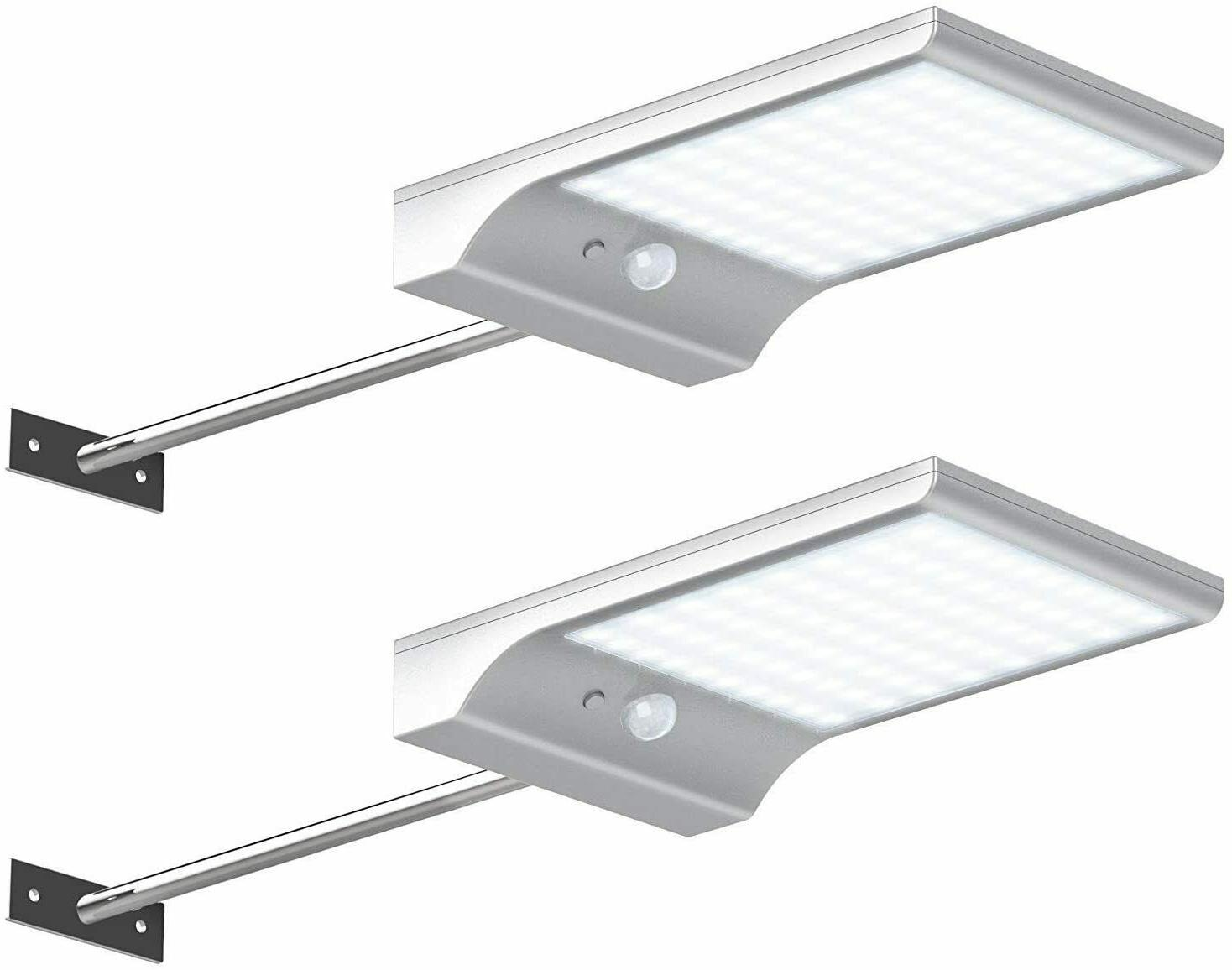 InnoGear Solar Gutter Lights Wall Sconces Outdoor