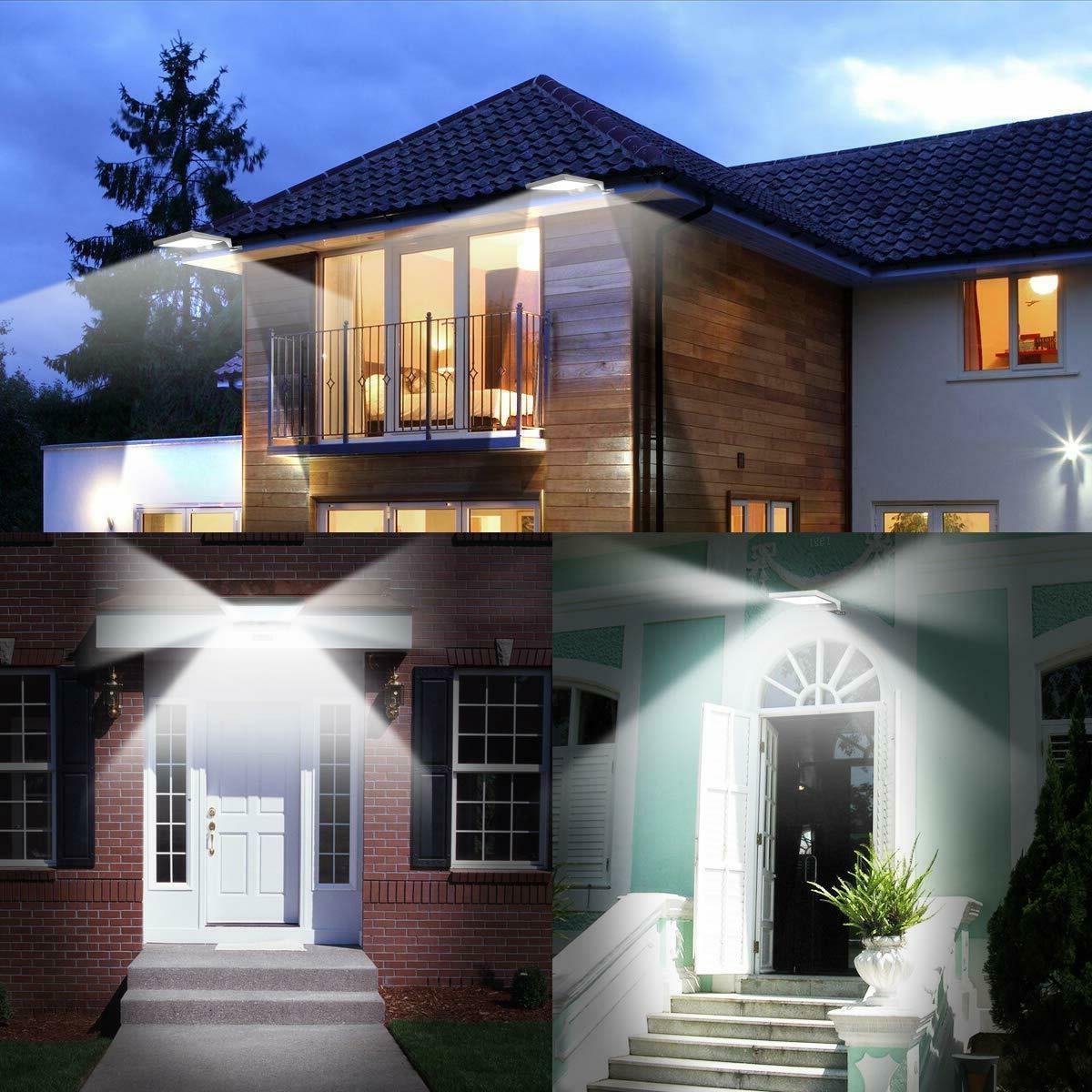 InnoGear Solar Wall Lighting, Pack of 2…