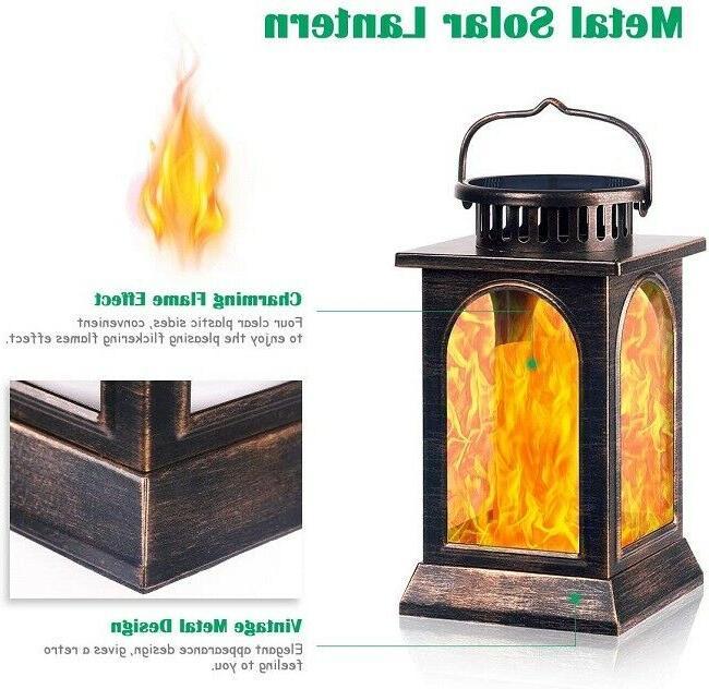 Solar Lantern Flame Bronze Pack