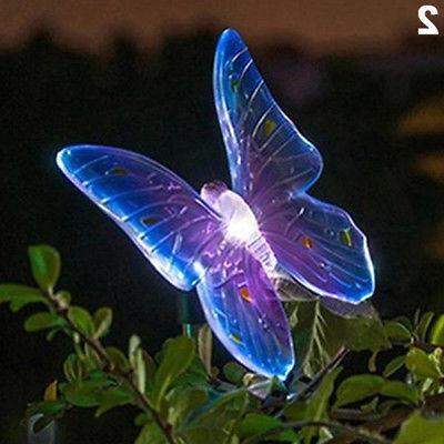 Solar LED Outdoor Path Yard Lawn Spotlight Lamp