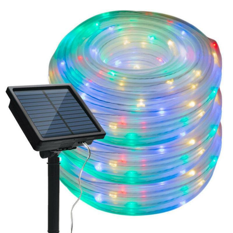 Solar LED Night Light Outdoor Landscape LED String lights Tw