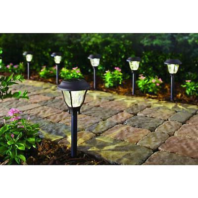 SOLAR LED PATHWAY Set Outdoor Yard Garden Walkway 6-PACK